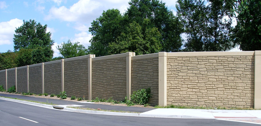 Sound Barrier Fence Residential