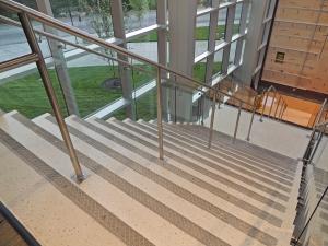 BSU Football Stair Railing