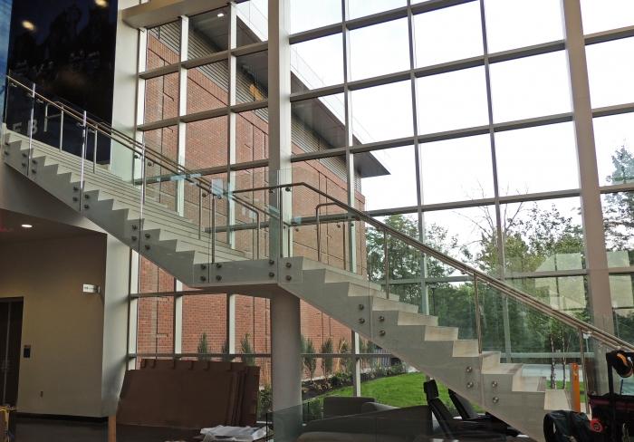 BSU Football Stairs Full